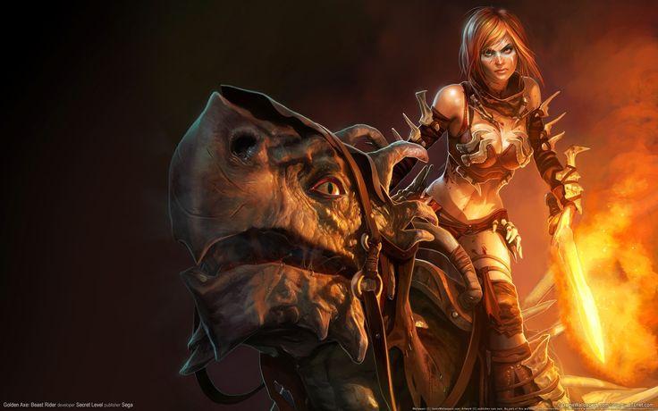 golden axe beast rider for desktop hd 1920x1200