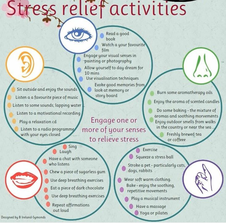 activities that relieve stress essay Relaxation techniques are a great way to help with stress management relaxation isn't only about peace of mind or enjoying a hobby relaxation is a process that decreases the effects of stress on your mind and body relaxation techniques can help you cope with everyday stress and with stress.