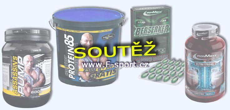 SOUTĚŽ č.0003 V DISKUSI! - Soutěž je JEN PRO členy diskuse F-sport.cz http://www.f-sport.cz/bb/index.php?action=vthread&forum=11&topic=10866 ÚČASTNI SE V DISKUSI a VYBER SI VÝHRU! Assassins Pump Explomax 600 g http://www.f-sport.cz/eshop/print.php?id=5477 nebo CFM Whey Protein 85 Professional Economy Explomax 1500 g http://www.f-sport.cz/eshop/print.php?id=5154 nebo TT Ultra Strong IronMaxx 90 tbl http://www.f-sport.cz/eshop/print.php?id=5520 nebo 2x Berserker IronMaxx 60 kps…