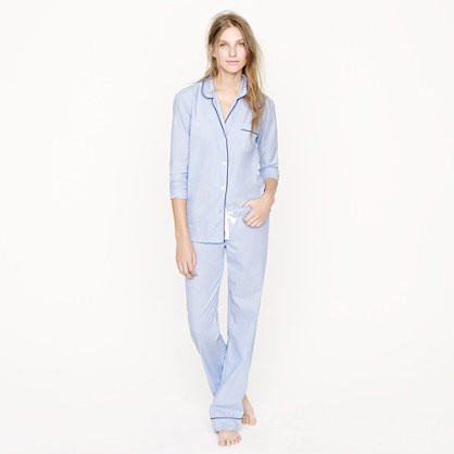 Vintage pajama set - sleepwear - Women's Women_Shop_By_Category - J.Crew, I'm a sucker for classic preppy pjs