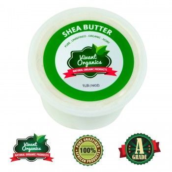 Pure Shea Butter: 100% Natural Dry Skin Treatment