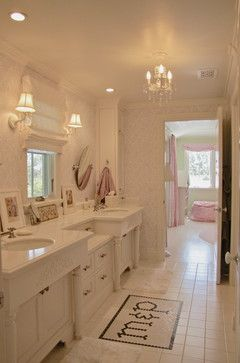 Kinda Princess-ish but could be a great adult bath with a few minor changes to fixtures and accessories