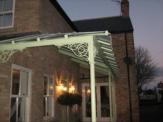 Classical Veranda with Classic Roof