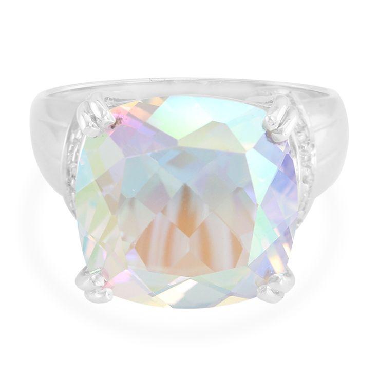 Zilveren+ring+met+een+maanlicht-topaas+-+een+echte+aandachtstrekker.+Alleen+verkrijgbaar+in+de+Juwelo+webwinkel.+Met+certificaat+van+echtheid.