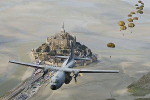 Parachutistes - Chant de la compagnie portée !
