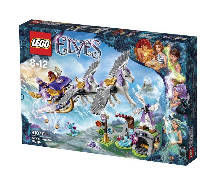LEGO Elves 41077 Aira's Pegasus-Schlitten