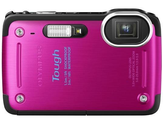 Appareil photo numérique compact OLYMPUS Tough TG 620 rose