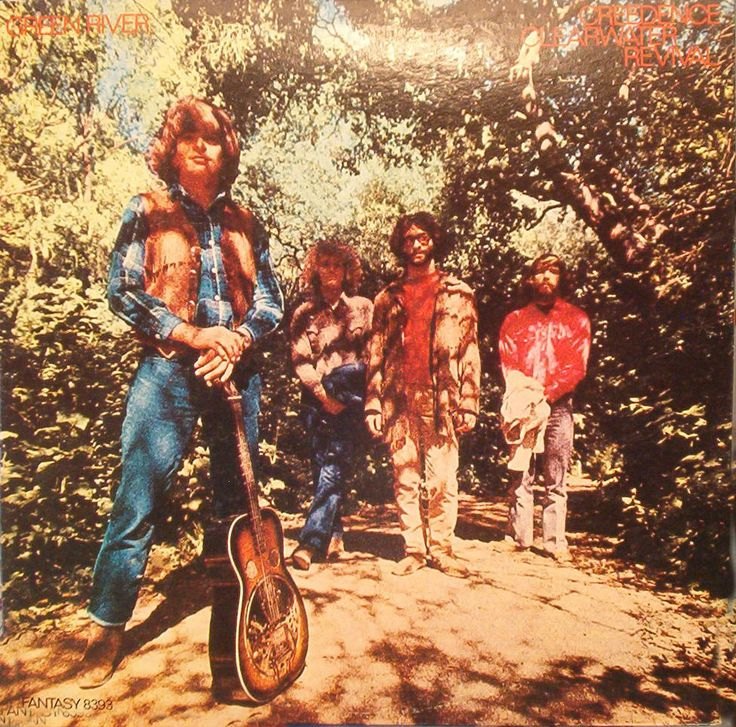 Creedence Clearwater Revival. Became a major label force in the '60s and '70s, and were John Lennon's favorite American band.