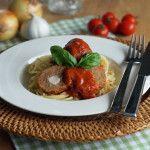 Aus+dem+Slowcooker:+Mozzarella-Hackbällchen+in+Tomatensauce