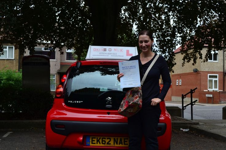 Automatic Driving Lessons Winchmore Hill  Congratulations Thea on passing your automatic driving test first time at Wood Green   www.drivewi...