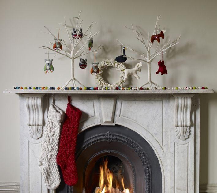 Christmas Decoration - Fireplace