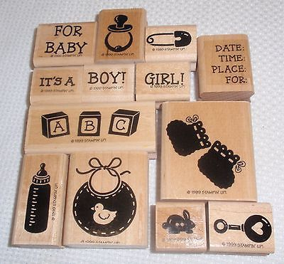 Stampin Up Baby Boutique