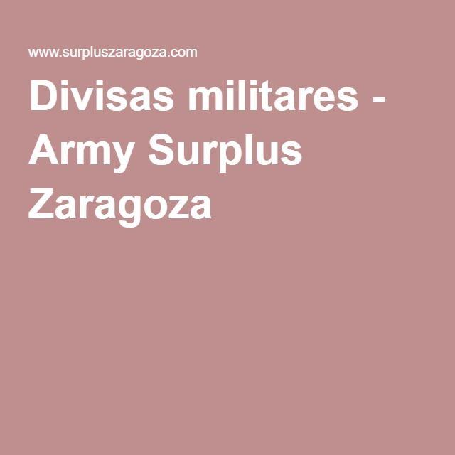 Divisas militares - Army Surplus Zaragoza