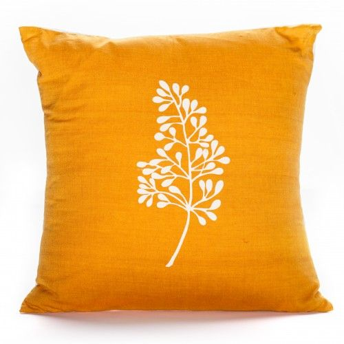 This Pillow Is Made On Bamboo Looms By Women Weavers Of The Bodo Tribe From  India