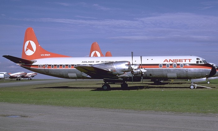 Ansett Airlines Electra