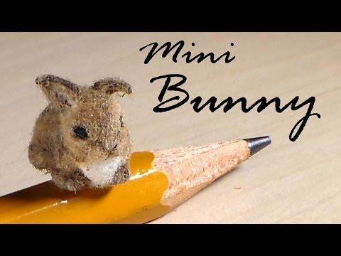 Miniature Baby Bunny - Polymer Clay Tutorial - YouTube