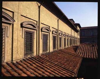 Biblioteca laurentina florencia renacimiento italiano for Arquitectura quattrocento y cinquecento