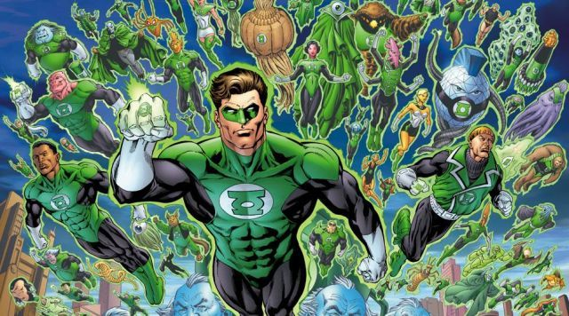 """So this is happening. Smart move going with a reboot. - """"Green Lantern Reboot Officially Titled Green Lantern Corps."""""""