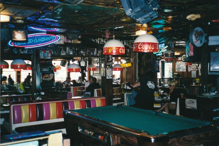 Inside Barney's Beanery, West  Hollywood