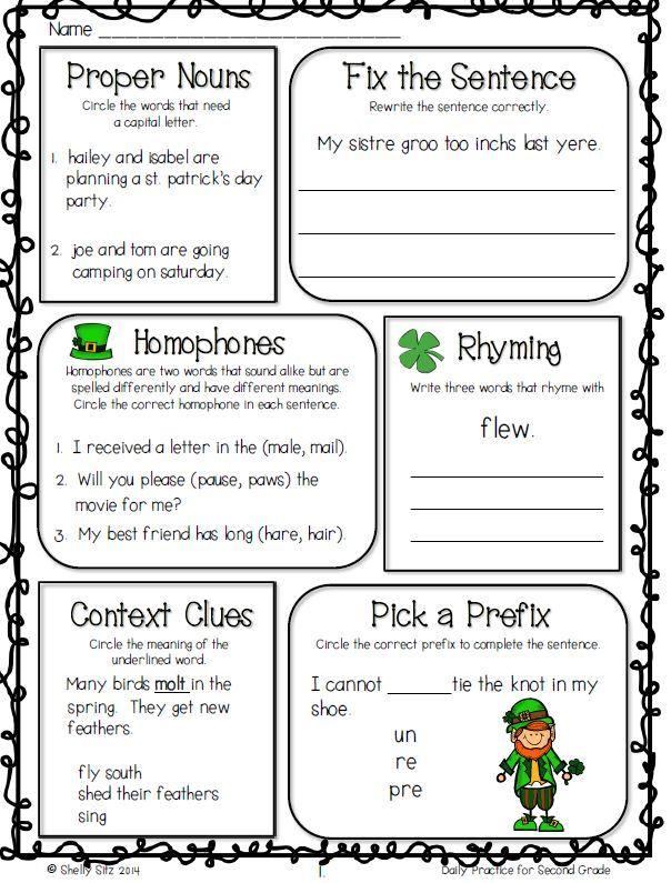 61 best images about 2nd Grade Grammar on Pinterest ...