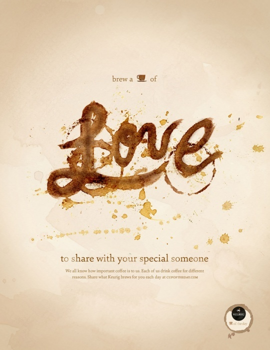 Advertising: Keurig: Cup of the Day, Love