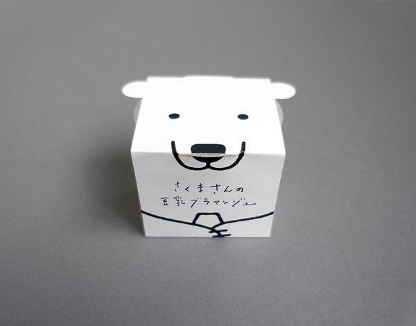 DESIGN DESIGN デザインデザイン/白井剛暁 » WORKS » Sakumasan no Tonyu Blanc-Manger | RE…