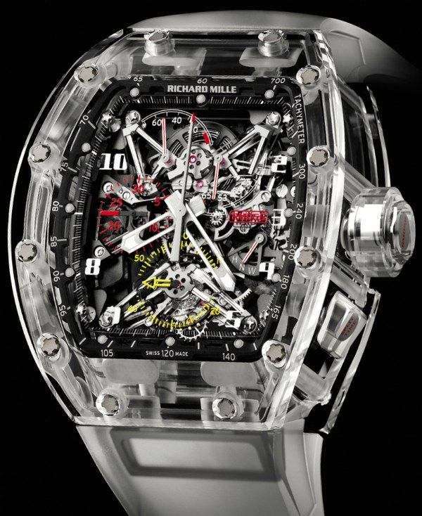 Richard Mille RM 056 All Sapphire Crystal Watch   richard mille