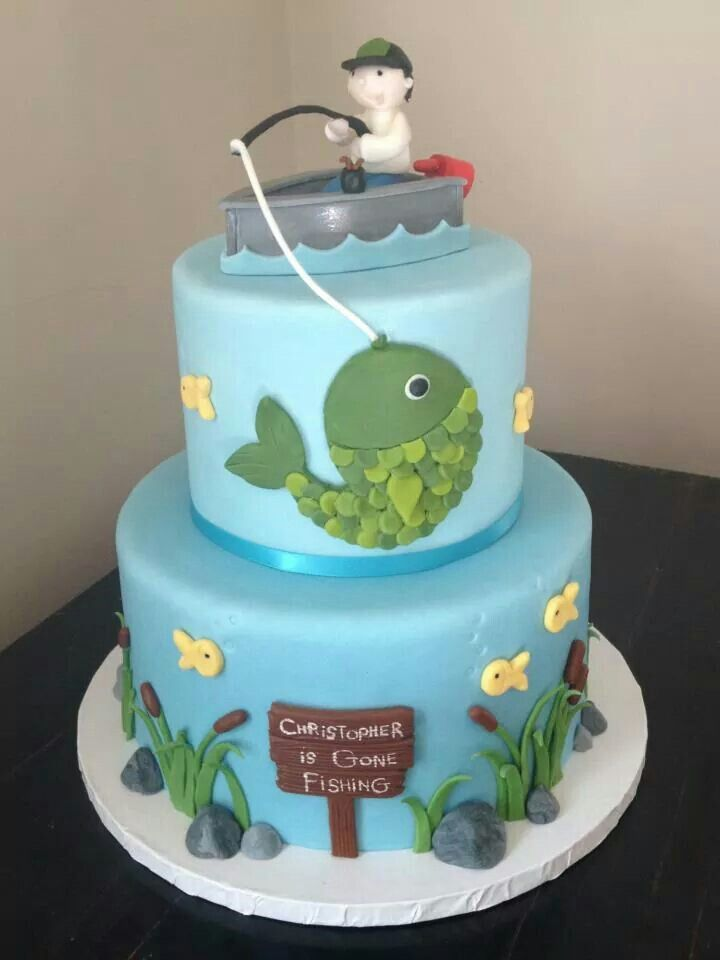 Fishing Cake for the loyal fisherman in your family.