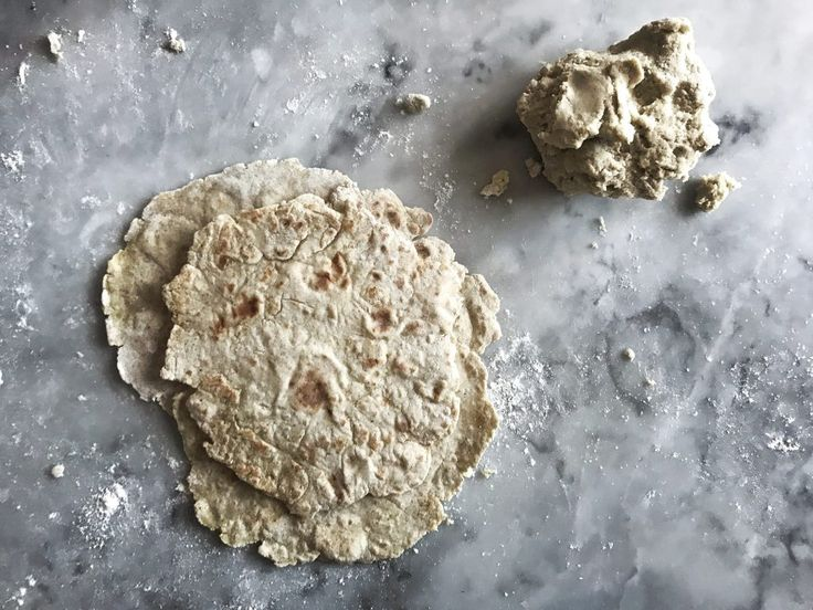 How To Make Two-ingredient Soft Flatbread – Food Pharmacy
