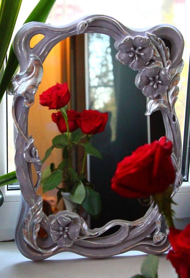 супер украшение для дома.лепная рама для зеркала