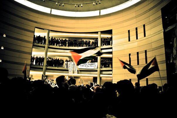 SAIA rally for BDS, 2008
