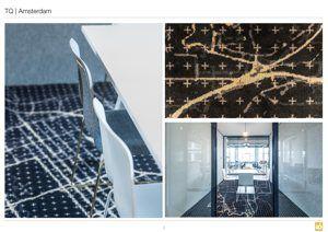 24 Prachtige vloerkleden voor TQ kantoor - Prints van Oranje - Marktleider
