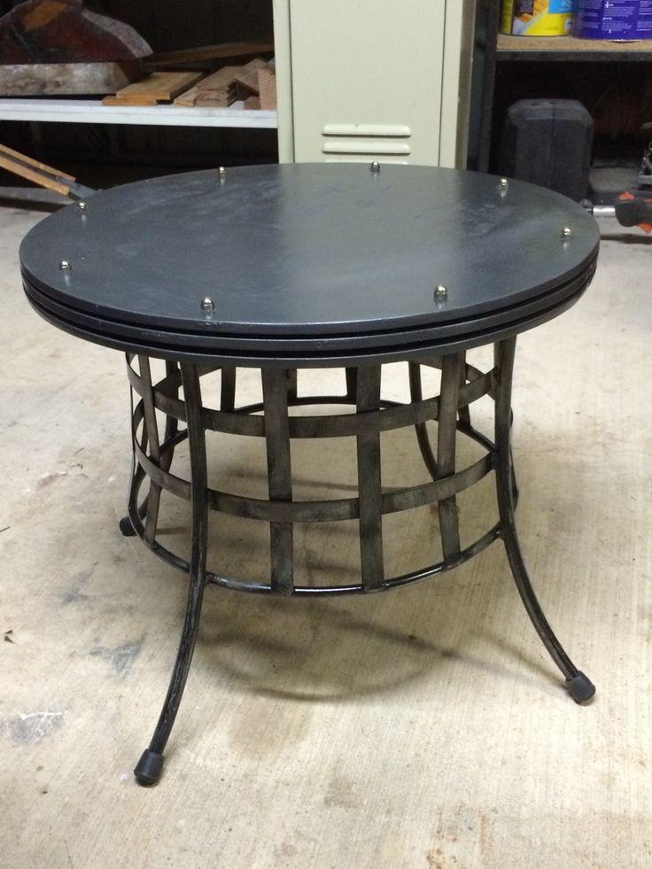 Steam punk coffee table