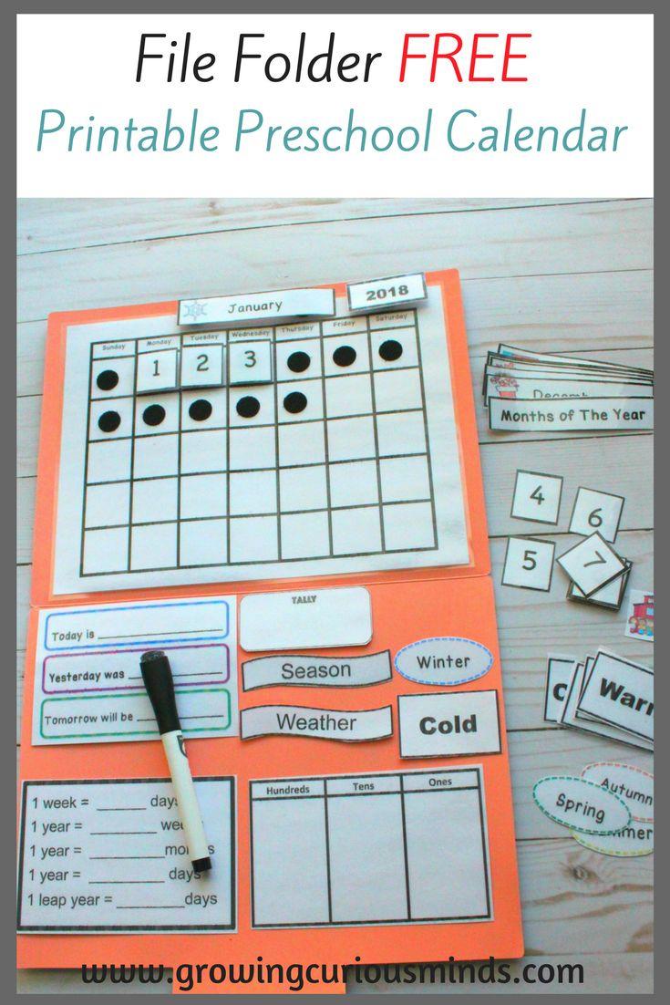 Kindergarten Calendar Folders : Best hands on homeschool images pinterest crafts