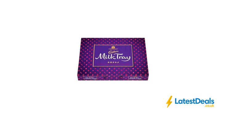 Cadbury Milk Tray Chocolate Selection 530g Free C&C, £5 at Superdrug