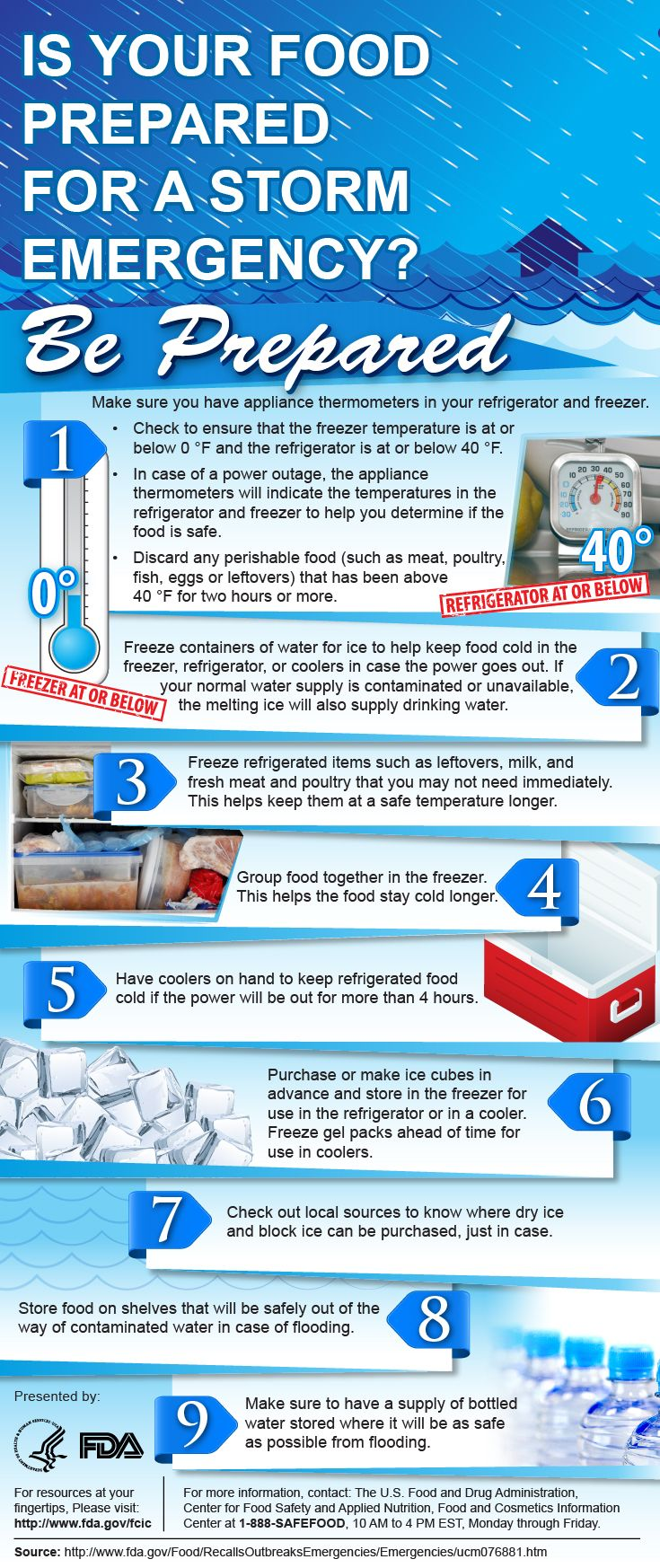 What Consumers Need to Know About Food and Water Safety During Hurricanes, Power Outages, and Floods. #Water #PowerOutage