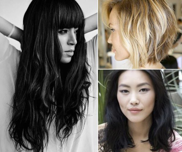 Best Hairstyle For Heavy Face : Best 25 thick hair haircuts ideas on pinterest shoulder length