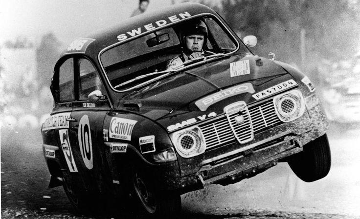 Saab 96 at Monte Carlo Rally