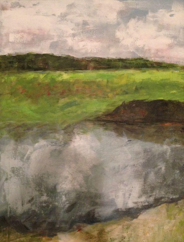 Abstract landscape, Debi Fontaine Sellinger
