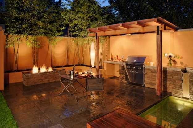 backyard bbq areas | Outdoor BBQ Kitchen Islands Spice Up Backyard Designs and Dining ...