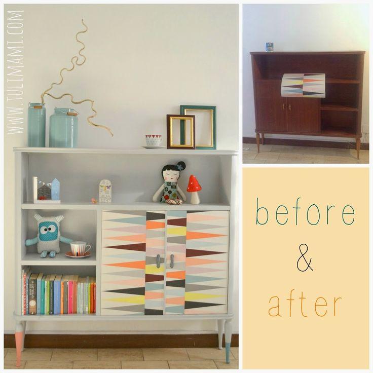 Before&after: la vecchia libreria della nonna • Tulimami