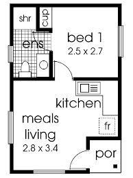 Image result for granny flat floor plans 1 bedroom