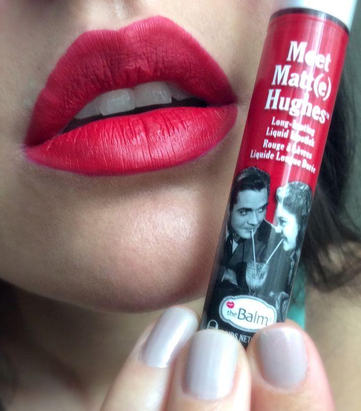 The Balm Matte lipstick in Devoted