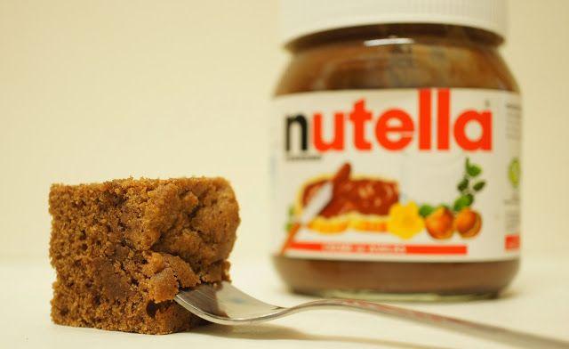 "A culpa é das bolachas!: Brownies de Nutella com cobertura ""crumble"" de Nutella"