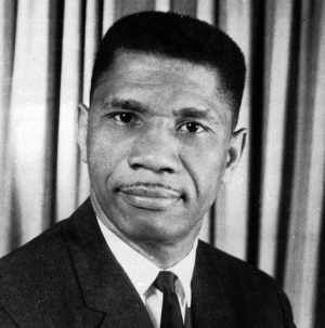 Medgar  Evers (1925 - 1963) African American civil rights leader and politician. As field secretary for the National Association for the Advancement of Colored People (NAACP) in Mississippi, his assassination galvanized the Civil Rights Movement.