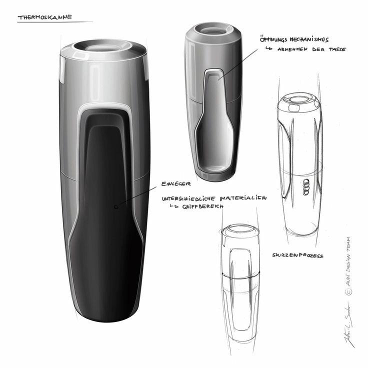 Audi Q3 Vail Flashlight Design Sketch