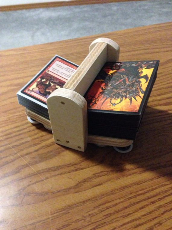 Magic the Gathering library and graveyard by AlaskanNerderySupply