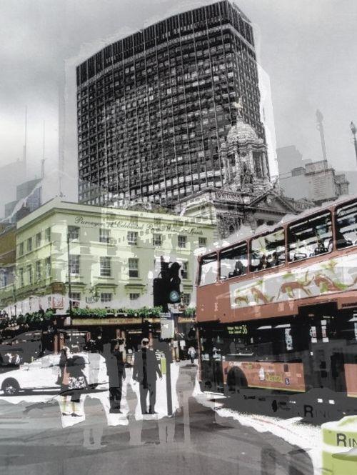 'Outside Victoria Station' Version 2, 2013. (ryanjhughes).