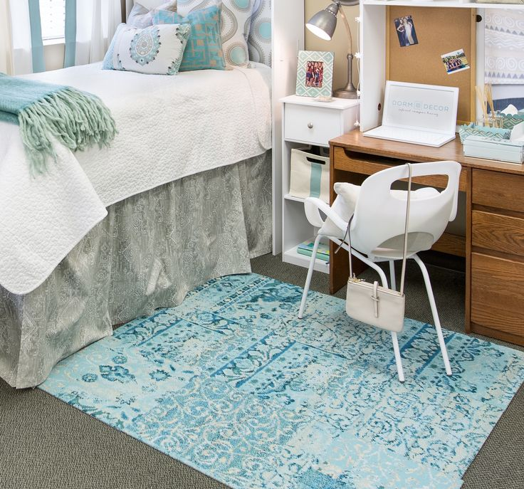 Decorating Ideas > Orientation Teal  Dorm Room  Pinterest  Products, Teal  ~ 152254_Dorm Room Ideas Teal