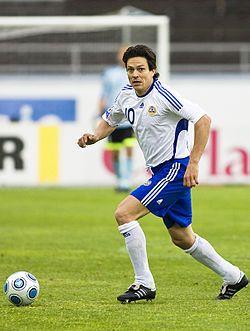 Jari Litmanen - Finland's best soccer player ever! The King.
